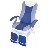 Педикюрное косметологическое кресло «Ирина» 1 электромотор (высота 550 - 850 мм)