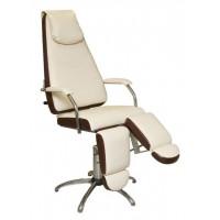 Педикюрное кресло «Милана» (пневматическое с опорами под ноги) (высота 460 - 590мм)